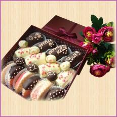 Шоколадное поздравление