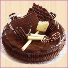 Вкусный свежий торт