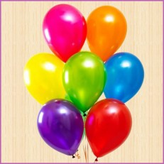 Гелиевые шары 7 штук
