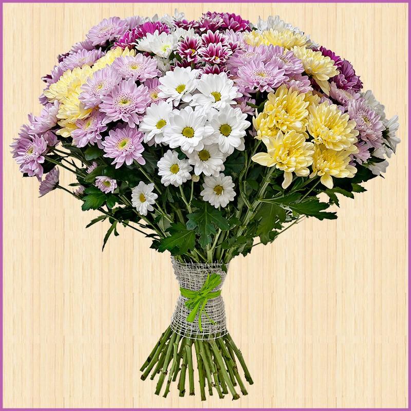 Невесты, кустовые хризантемы букеты